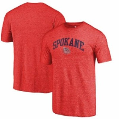 Fanatics Branded ファナティクス ブランド スポーツ用品  Fanatics Branded Gonzaga Bulldogs Red Arched City Tri-Bl