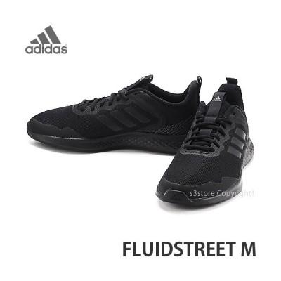 アディダス フルイドストリート エム adidas FLUIDSTREET M スニーカー メンズ シューズ 靴 ランニング 運動 MENS カラー:コアブラック