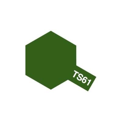 タミヤカラースプレー TS61 NATOグリーン 《塗料》