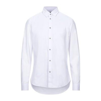 ジョン リッチモンド JOHN RICHMOND シャツ ホワイト 50 コットン 52% / ナイロン 45% / ポリウレタン 3% シャツ