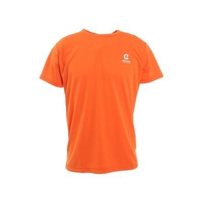ジローム(GIRAUDM) ドライ 吸汗速乾 放熱素材 UVカット 半袖Tシャツ 863GM1TP6694 ORG (メンズ)