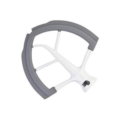 Flex Edge ビーター KitchenAid ボウルリフトスタンドミキサー用 6クォート フラットビーターブレード 柔軟なシリコンエッジ付き