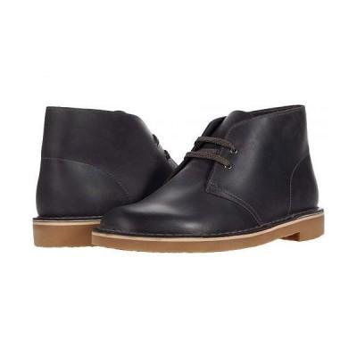 Clarks クラークス メンズ 男性用 シューズ 靴 ブーツ チャッカブーツ Bushacre 3 - Grey Leather