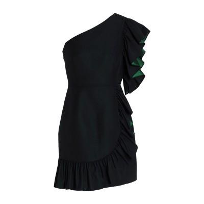 SANDRO ミニワンピース&ドレス ブラック 1 コットン 47% / アセテート 45% / ポリエステル 8% ミニワンピース&ドレス