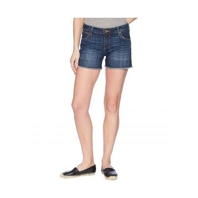 KUT from the Kloth カットフロムザクロス レディース 女性用 ファッション ショートパンツ 短パン Gidget Fray Shorts in Stimulating/Dark - Stimulating/D..