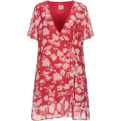 メルシー ..,MERCI ミニワンピース&ドレス レッド 42 ポリエステル 100% ミニワンピース&ドレス