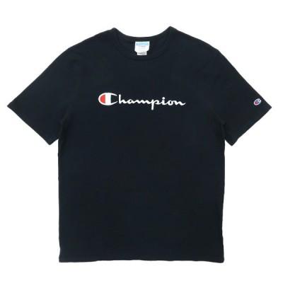 古着 チャンピオン Champion Tシャツ ブラック サイズ表記:XL