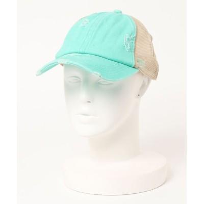 STYLEBLOCK / ダメージ加工メッシュキャップ WOMEN 帽子 > キャップ