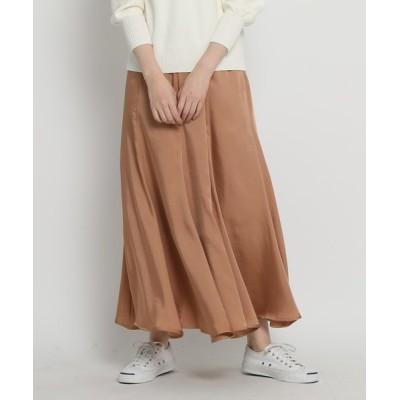 WORLD ONLINE STORE SELECT / 【洗える・S~Lサイズあり】ヴィンテージサテンロングスカート WOMEN スカート > スカート