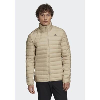 アディダス ジャケット&ブルゾン メンズ アウター VARILITE SOFT OUTDOOR DOWN - Down jacket - beige