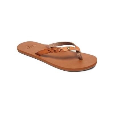 ロキシー サンダル シューズ レディース Liza III Flip-Flop Sandals Beige