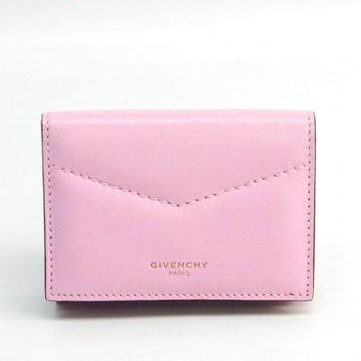 ジバンシィ レディース レザー 財布(三つ折り) ライトピンク