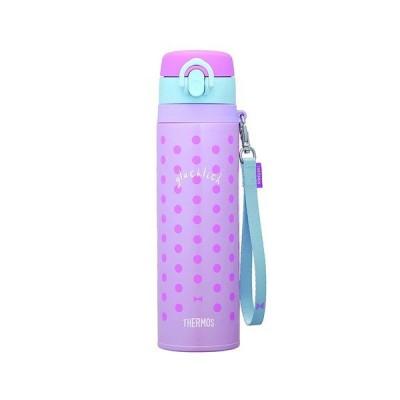 サーモス 水筒 ボトル マグ 550ml 真空断熱ケータイマグ JNT-550 PL-B 保温 保冷 THERMOS ケータイマグ パープルブルー