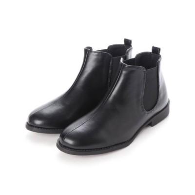 ZealMarket/SFW / 履き心地やわらか、美シルエットサイドゴアブーツ WOMEN シューズ > ブーツ
