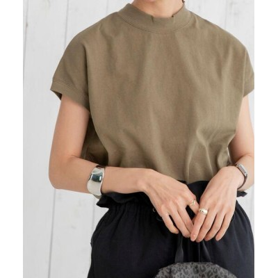 coen / 【WEB限定復刻】リピT・USAコットンハイネックTシャツ# WOMEN トップス > Tシャツ/カットソー