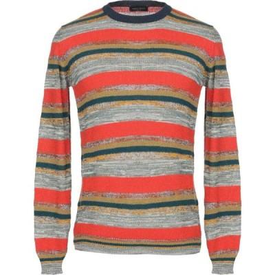 ロベルトコリーナ ROBERTO COLLINA メンズ ニット・セーター トップス sweater Red
