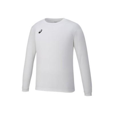 長袖Tシャツ/アシックス/ロングスリーブ/Tシャツ/asics/xa6189-0190/白x黒/バレーボール