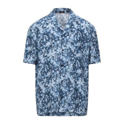 YOON シャツ ダークブルー 48 リネン 100% シャツ