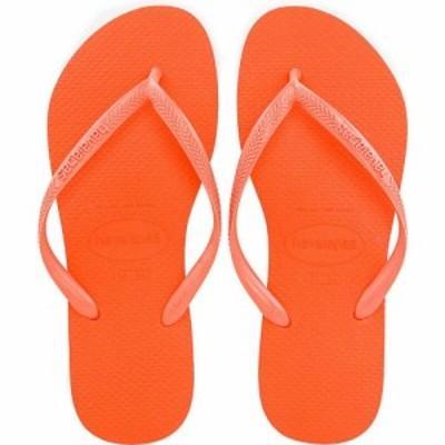 ハワイアナス Havaianas レディース ビーチサンダル シューズ・靴 Slim Flip Flop Coral Chic