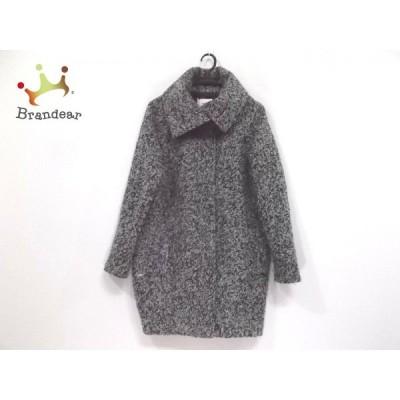 ムルーア MURUA コート サイズM レディース グレー×ライトグレー×黒 冬物       スペシャル特価 20201101