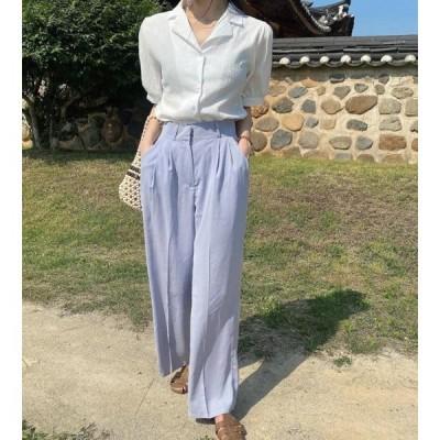 monodaily レディース パンツ Sunny wide pants