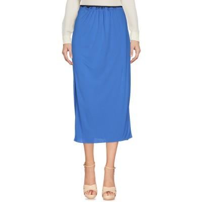 JIL SANDER NAVY 7分丈スカート ブルー 36 100% レーヨン 7分丈スカート