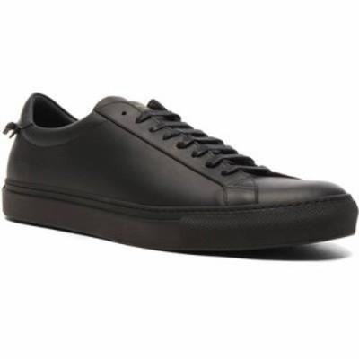 ジバンシー スニーカー Leather Urban Street Low Top Sneakers Black