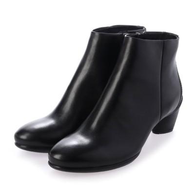 エコー ECCO ECCO SCULPTURED 45 Ankle Boot (BLACK)