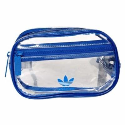 アディダス adidas Originals レディース ボディバッグ・ウエストポーチ バッグ originals clear waist pack Collegiate Royal
