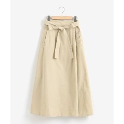 NIMES / ニーム シャトルオックスラップスカート