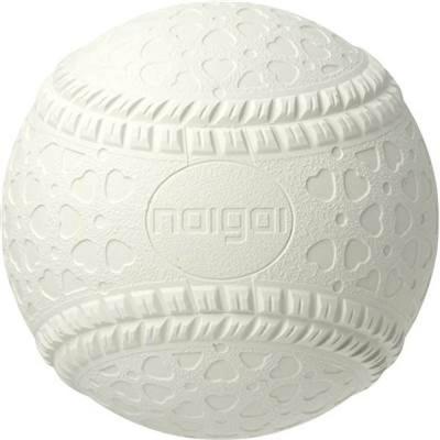 軟式野球用ボール NEW J号(ジュニア/小学生用)バラ/1球 NAIGAI ナイガイゴム 軟式ボール18FW(JNEW)