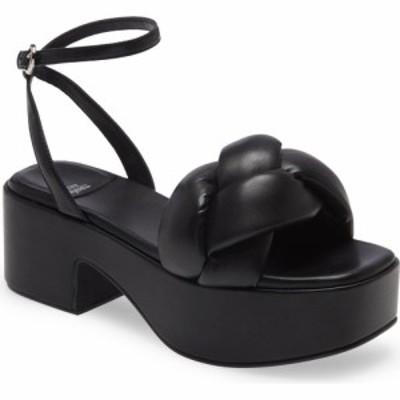 ジェフリー キャンベル JEFFREY CAMPBELL レディース サンダル・ミュール シューズ・靴 Braided Platform Sandal Black