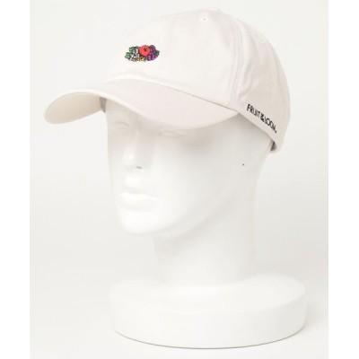 ARCADE / FRUIT OF THE LOOM フルーツオブザルーム ロゴ刺繍 ローキャップ MEN 帽子 > キャップ