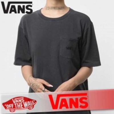 VANS バンズ Tシャツ 半袖 レディース ウィメンズ ポケット ポケT ロゴ 無地 丸首 XS~XXL トップス 新作