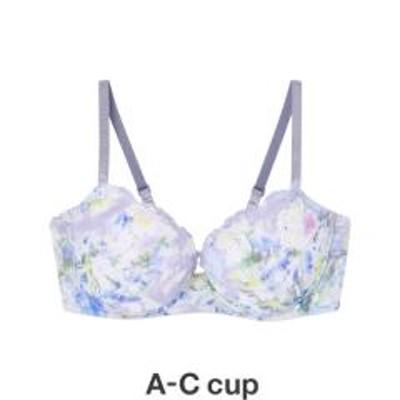AMPHI(アンフィ)BRAGENIC One Day/花柄プリントorシンプル ワイヤレスモールド ブラジャー(A~C)
