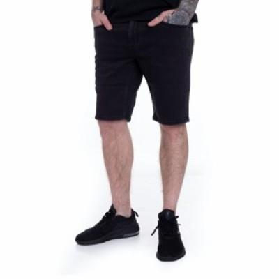 ボルコム Volcom メンズ ショートパンツ デニム ボトムス・パンツ - Vorta Denim Ink Black - Shorts black
