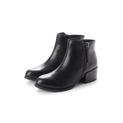 ブリジット バーキン Bridget Birkin 【PARADIS COULEUR】5cmヒールジップデザインショートブーツ (ブラック)