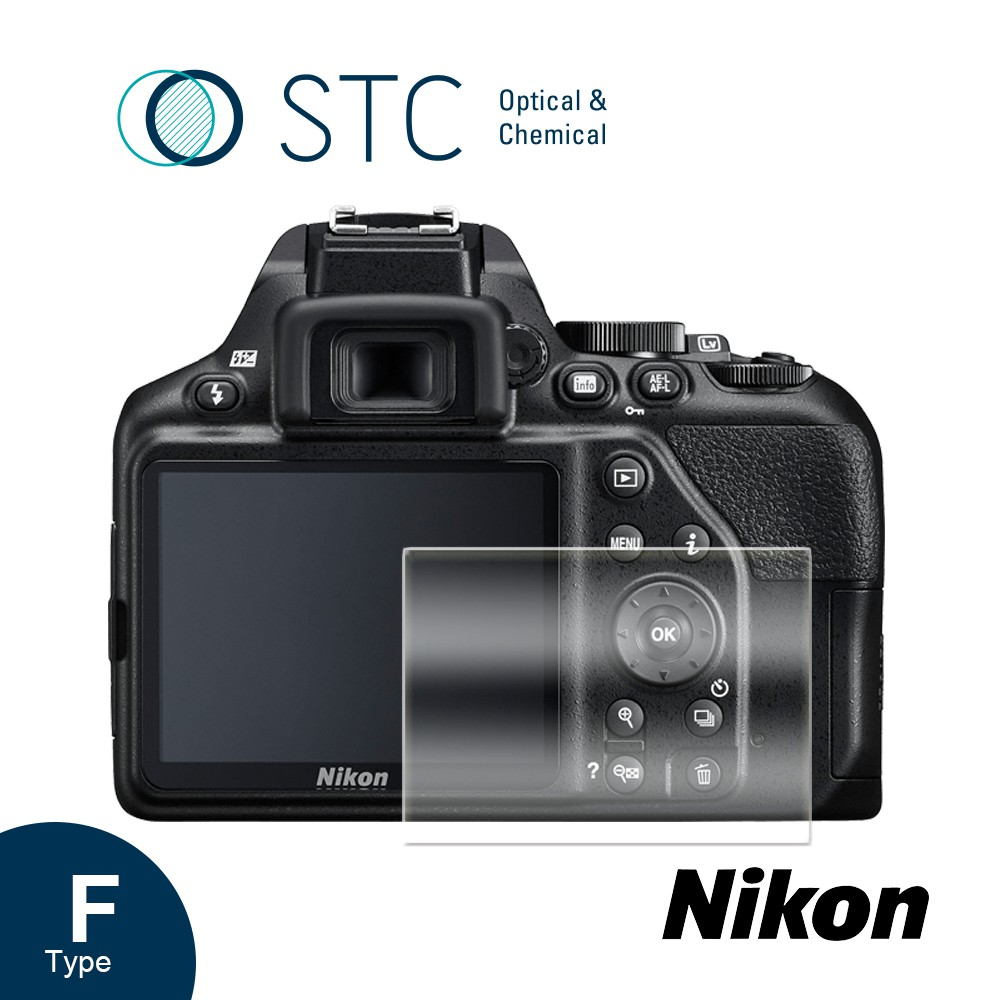 【STC】9H鋼化玻璃保護貼 專為Nikon D3500/3400/3300/3200/3100 觸控式相機螢幕設計