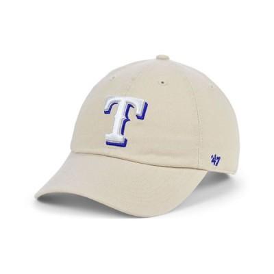 47ブランド メンズ 帽子 アクセサリー Texas Rangers Bone Clean Up Cap