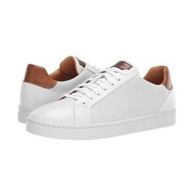 Magnanni マグナーニ メンズ 男性用 シューズ 靴 スニーカー 運動靴 Basilio Lo - White