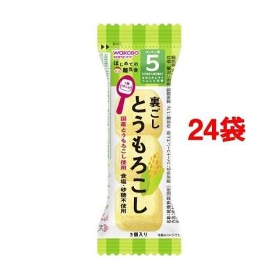 和光堂 はじめての離乳食 裏ごしとうもろこし ( 1.7g*24袋セット )/ はじめての離乳食