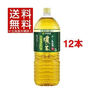 伊藤園 おーいお茶 濃い茶 機能性表示食品 ( 2L*12本セット )/ お〜いお茶