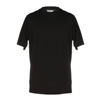 マウロ グリフォーニ MAURO GRIFONI T シャツ ブラック S 100% コットン T シャツ