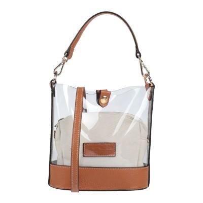 INNUE' ハンドバッグ タン ポリ塩化ビニル / 革 ハンドバッグ