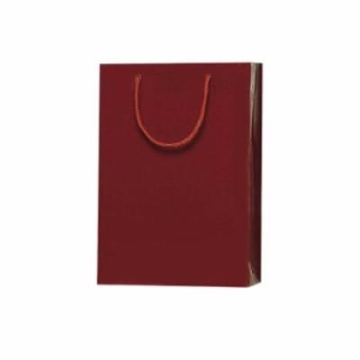 特別ボックス対応のお手提袋【紙袋 手提げ袋 ボトルバッグ レッドワイン えんじ】093410。。
