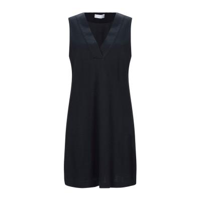 GIANNI CUCCUINI ミニワンピース&ドレス ダークブルー 40 コットン 94% / ナイロン 6% ミニワンピース&ドレス