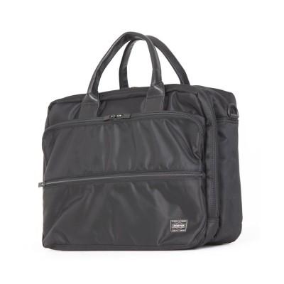 (PORTER/ポーター)吉田カバン ポーター タイム ビジネスバッグ メンズ 軽量 大容量 A4 PORTER 655-08297/ユニセックス ブラック