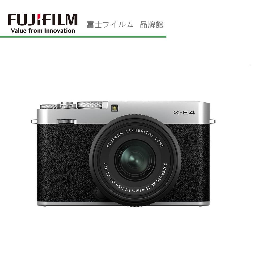 FUJIFILM 富士 X系列 X-E4 單機身/XF27MM II KIT組/相機手把+姆指墊KIT組
