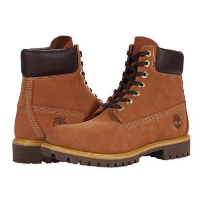 """ティンバーランド 6"""""""" Premium Waterproof Boot メンズ ブーツ Rust Nubuck Mid Brown"""