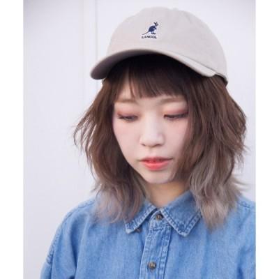 帽子 キャップ [KANGOL]Washed Baseball CAP/[カンゴール]ツイルキャップ
